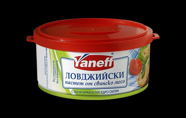 Дизайн на опаковка за пастет в серия месни консерви, 04