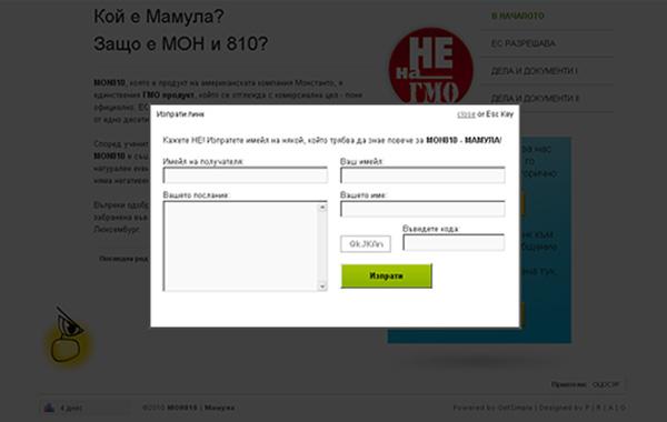 уеб дизайн - сайт mamula, 05