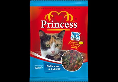 Дизайн на опаковка, храна за котки Princess,02