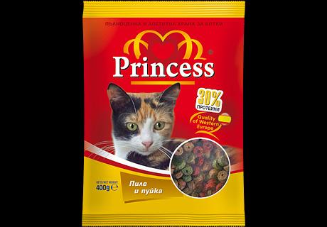 Дизайн на опаковка, храна за котки Princess,04