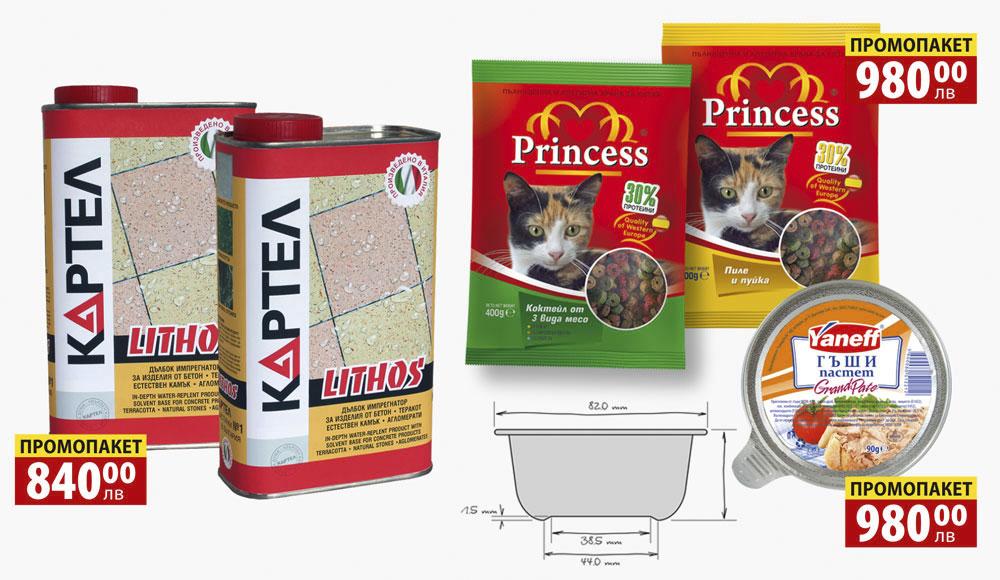 Дизайн на опаковка, цени, Таблица 2